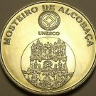 Gem Unc Silver Portugal 2006 5 Euros~Monestary Of Alcobaca~Free Shipping