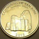 Huge Gem Unc Panama 2015 Half Balboa~San Jose Convent~Free Shipping