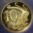 Rare Cameo Proof Australia 1983 10 Cents~LyreBird~80,000 Minted~Free Shipping