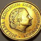 Gem Unc Netherlands 1980 5 Cents~Last Year Ever Minted~Orange Branch~Free Ship