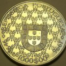 Unc Silver Portugal 1996 1,000 Escudos~Madonna & Child~Awesome~Free Shipping
