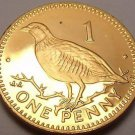 Gem Unc Gibraltar 2000 Penny~Barbery Partridge~Free Shipping