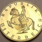 Proof Austria 1983 5 Schilling~65,000 Minted~Lippizaner Stallion~Free Shipping