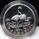 Fantasy Silver-Plated Proof Russia 1997 Rouble~Lesser Flamingos~Free Shipping