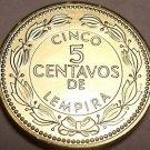 Gem Choice Uncirculated Honduras 2010 5 Centavos~Brass Coin~Free Shipping