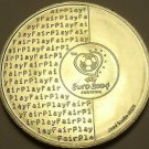 Gem Unc Silver Portgal 2003 8 Euros~2004 Soccer Games~ Fair Play~Fantastic~Fr/Sh
