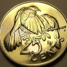 Rare Unc British Virgin Islands 1976-U 25 Cents~Mangrove~Only 996 Minted~Free Sh