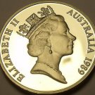 Cameo Proof Australia 1989 5 Cents~Echidna~67,000 Minted~Proofs Are Best~Fr/Ship