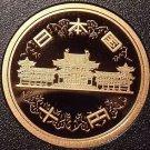 Gem Cameo Proof Japan Year 4 (1992) 10 Yen~Hoodo Of Byodo-in Temple~Free Ship