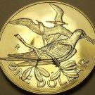 Rare Unc British Virgin Islands 1975-U Dollar~Frigate~Only 2,351 Minted~Free Shi