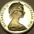 Rare Proof Australia 1975 10 Cents~Lyre Bird~23,000 Minted~Free Shipping