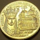 Gem Unc Romania 2012 50 Bani~Incredible Details~Reign Of Neagoe Basarab~Free Shi