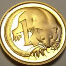 Cameo Proof Australia 1982 Cent~Feather-Tailed Glider~100,000 Minted~Free Ship