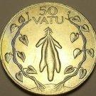 Large Unc Vanuatu 1983 F.A.O. 50 Vatu~Tubers With Leafy Vines~Free Shipping