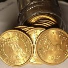 Unc Roll (50 Coins) India 1952-B Pice~Horse~Free Shipping