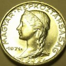 Gem Unc Hungary 1971 5 Filler~Only 100,000 Minted~Free Shipping*