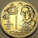 Gem Unc Portugal 1992 200 Escudos~America Discovered 500 Years Ago~Free Ship