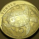 Gem Unc Silver Niue 2015 $2.00~Sea Turtle~Excellent~Free Shipping