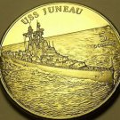 Gem Unc Marshall Islands 1998 $5.00~The Heavy Cruiser USS Juneau~Free Shipping