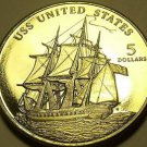 Gem Unc Marshall Islands 1998 $5.00~The USS United States~Excellent~Free Ship