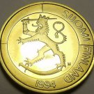 Rare Proof Finland 1994 Markka~Rampant Lion~5,000 Minted~Excellent~Free Shipping