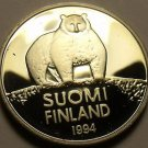 Rare Proof Finland 1994 50 Penni~Polar Bear~5,000 Minted~Free Shipping