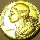 Gem Unc France 1974 5 Centimes~Liberty Bust~Fantastic~Free Shipping