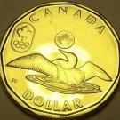 Gem Unc Canada 2012 London Olympic Loonie Dollar~Fantastic~Free Shipping