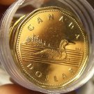 Gem Unc Roll (20 Coins) Canada 1992 Loonies~150 Years Of Confederation~Free Ship