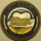 USS Kitty Hawk First In Flight Medallion~Presented By The Commanding Officer~F/S