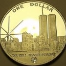 Silver Proof N. Marianas Islands 2004 Dollar~Made From Recovered Silver~Fr/Ship