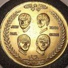 Gem Unc Beatles 1964 Commemorative Coming To America Medallion~Very Nice~FR/Ship