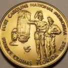 Massive 51mm Fort Caroline National Memorial Medallion~France Claims Florida~F/S