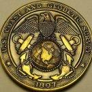 US Coast & Geodetic Survey Global Expedition Ship Oceanographer Medallion~Fr/Shi