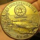 Massive 76.1mm Solid Bronze U.S.S. Independence CV-62 U.S. Navy Medallion~Fr/Shi