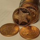 Gem Unc Roll (50) Bahamas 1998 Cents~Starfish Coins~Excellent~Free Shipping