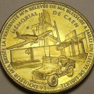 Caen World War II Memorial And Museum Medallion Normandy France~D-Day~Free Ship