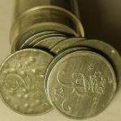 Circulated Roll (50 Coins) Denmark 2 Ore Coins~Zinc~1944-1964~Free Shipping