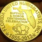 Huge 38.7mm F.U.N. 58th Annual 2013 Convention Medallion~2013~Florida~Free Ship