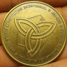Departmant Of Defense Constitution Bicentennial Medallion~39.2mm~Free Shipping