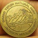Grand TeTon National Park Jackson Hole Wyoming Lucky Coin~Free Shipping
