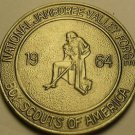 Gem Unc Boy Scouts National Jamboree 1964 Medallion~Valley Forge PA~Free Ship