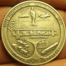 Huge 37.6mm 1971 Gem Unc Solid Pewter Hunnington West Virginia Centennial~Fr/Sh