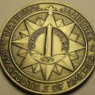 Gem Unc Boy Scouts National Jamboree 1937 Medallion~Washington D.C.~Free Ship