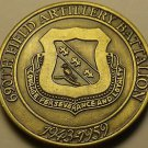 Solid Bronze U.S. Army 690th Field Artillery Battalion Medallion~Awesome~Fr/Ship