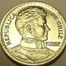 Chile 1958 Peso Unc~Rare~29,900 Minted*
