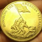 Honoring The American Veteran Preserving American Freedom Bronze Medallion 39mm