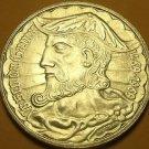 Gem Unc Silver Portugal 1969 50 Escudos~500th Anniv- Birth of Vasco DaGama~Fr/Sh