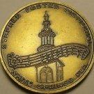 Stephen Foster Memorial White Springs Florida Unc Bronze Medallion 29mm