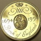 Gem Cameo Proof Great Britain 1994 2 Pounds~Anniversary Of Bank Of England~Fr/Sh